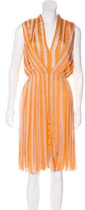 Todd Lynn Sleeveless Midi Dress