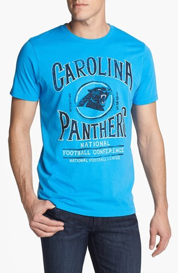 Junk Food 'Carolina Panthers - Kick Off' Graphic T-Shirt