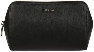 Furla Logo Plaque Cosmetic Case