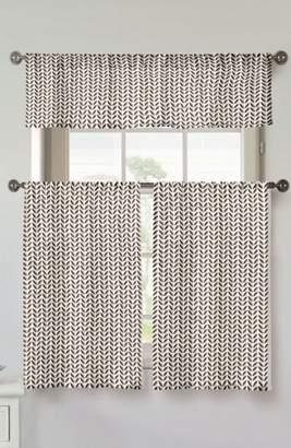 Kensie Filip Set of 3 Window Panels