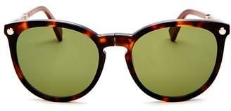 d27ffac57c Longchamp Women s Le Pliage Family Foldable Round Sunglasses