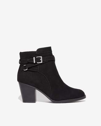 Express Faux Suede Bowery Boot