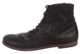 Marsèll Leather Brogue Boots