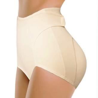 Bridess Womens Shaper Briefs Shapewear Padded Butt Hip Enhance Underwear (S, )