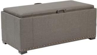 Ave Six Florence Storage Bench & Cube 3-piece Set