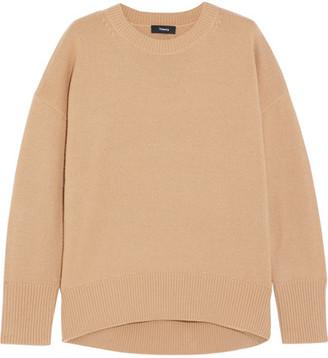 Theory Karenia Cashmere Sweater - Camel