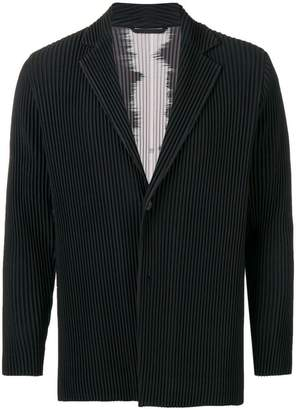 Issey Miyake Homme Plissé pleated casual blazer
