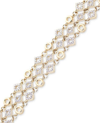 Wrapped in Love Diamond Link Bracelet (1 ct. t.w.) in 14k Gold, Created for Macy's