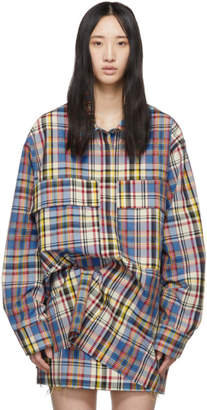 Marques Almeida Multicolor Check Overshirt