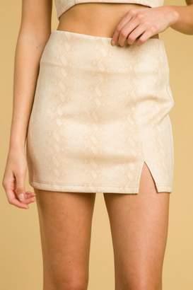 Honeybelle honey belle High Waist Skirt
