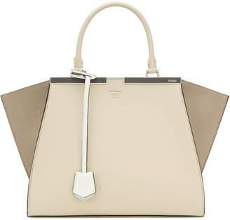 Fendi 3Jours Colorblock Leather Shopper