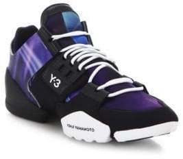 Y-3 Women's Kanja Chunky Sneakers - Core Black - Size Large (9-10.5)