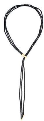 Yossi Harari 24K Bead Multistrand Lariat Necklace
