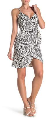 Love...Ady Leopard Print Wrap Dress