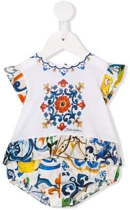 Dolce & Gabbana Majolica print body