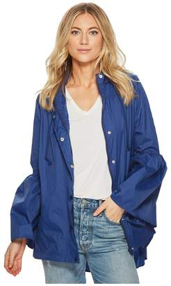 BB Dakota Yael Rain Jacket with Bell Sleeves Women's Coat