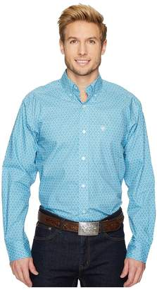 Ariat Cohen Print Shirt Men's Long Sleeve Button Up