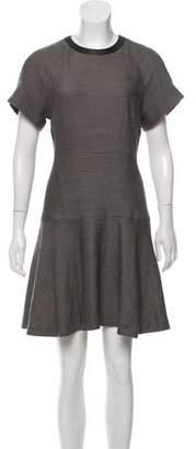 Rag & Bone Wool Abstract Print Dress