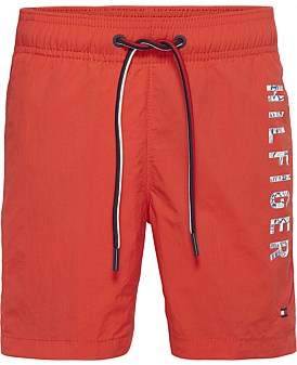 Tommy Hilfiger Medium Drawstring Side Logo Swim Short (Boys 8-14 Years)