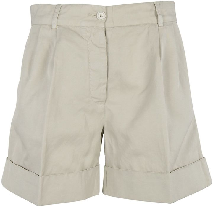Alberto AspesiAspesi Folded Hem Shorts