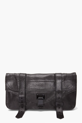 PROENZA SCHOULER PS1 Black Pouchette Clutch