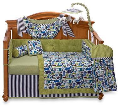 Banana Fish Bananafish® Joshua 4-Piece Crib Bedding and Accessories, 100% Cotton