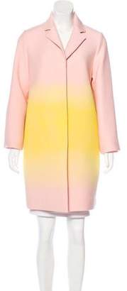 Jonathan Saunders Gradient Oversize Coat w/ Tags