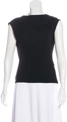 Jean Paul Gaultier Draped Sleeveless Top