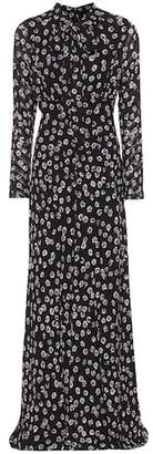 Tory Burch Diane floral-printed silk dress