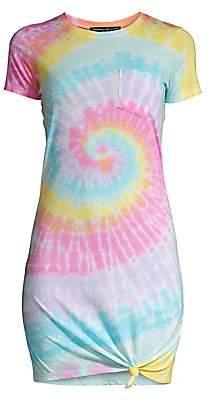 Generation Love Women's Casey Tie-Dye T-Shirt Dress