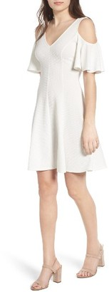 Women's Soprano Cold Shoulder Dress $45 thestylecure.com