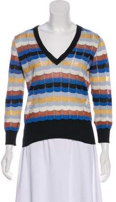 Missoni Striped Patterned Top