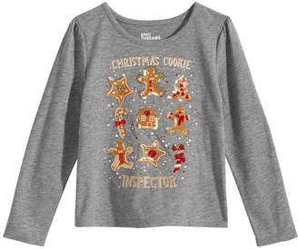 Epic Threads Toddler Girls Gingerbread T-Shirt