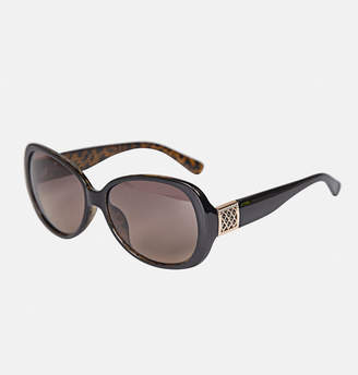 Avenue Gold Trellis Detail Sunglasses