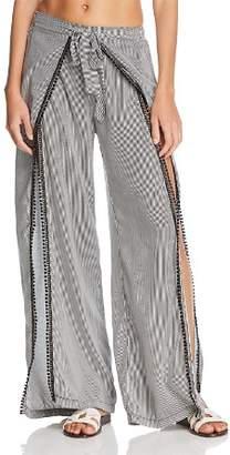 Peixoto Faux Wrap Swim Cover-Up Pants