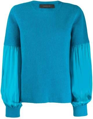 FEDERICA TOSI pleated-sleeve sweater