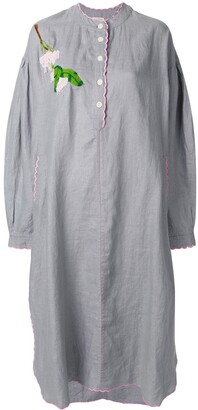Natasha Zinko embroidered tunic dress