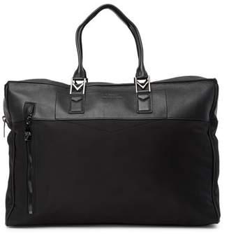 Versace Leather & Nylon Weekend Bag