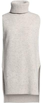 ADAM by Adam Lippes Speckled Knitted Wool And Cashmere-Blend Turtleneck Sweater
