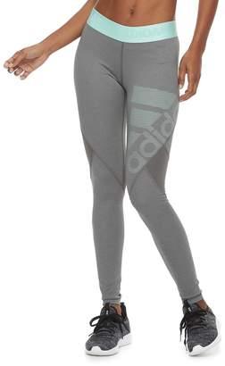 adidas Women's Alphaskin Sport Mid-Rise Long Leggings