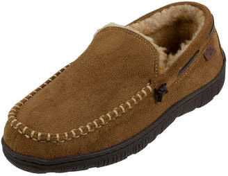 Dockers Rugged Collection Faux Fur Moccasin Slippers