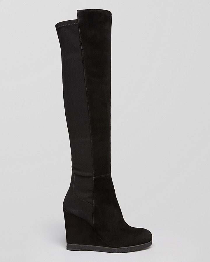 Stuart Weitzman Wedge Boots - Demiswoon 5050