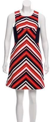 Trina Turk Mini Chevron Dress