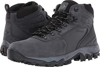 Columbia Men's Newton Ridge Plus II Suede Waterproof Waterproof Hiking Boot