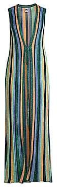 M Missoni Women's Lurex Maxi Cardigan