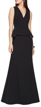 Women's Bcbgmaxazria Alejandra Peplum Gown $368 thestylecure.com