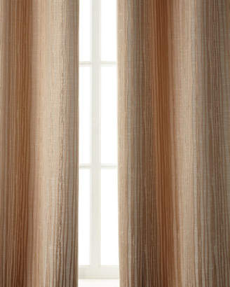 "Austin Horn Classics Two 96""L Abstract Stripe Curtains"
