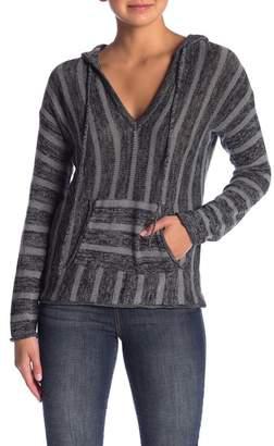 Love Stitch Striped Pullover Sweater