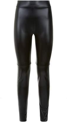 372f4f86b1efe Wolford Estella Faux Leather Leggings
