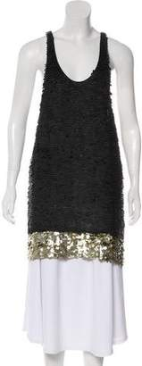 3.1 Phillip Lim Silk Sequined Tunic